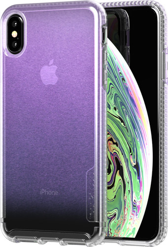 Second Chance Tech21 Pure Shimmer Apple iPhone Xs Max Back Cover Iridescent Pink Main Image