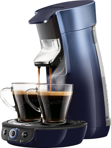 Philips Senseo Viva Café Duo Select HD6566/60 Blauw Main Image
