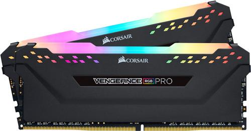 Corsair Vengeance RGB Pro 16GB DDR4 DIMM 2666 Mhz/16 (2x8GB) Black Main Image