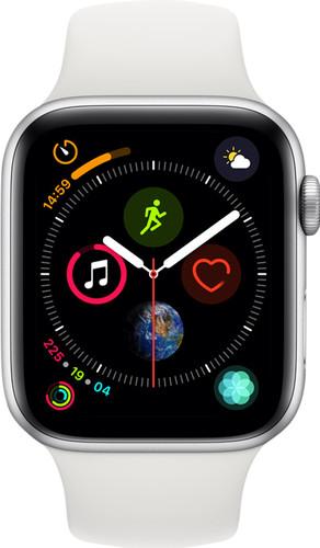 Refurbished Apple Watch Series 4 44mm Zilver Main Image