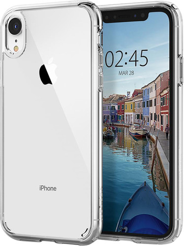 Spigen Ultra Hybrid iPhone Xr Back Cover Transparent Main Image