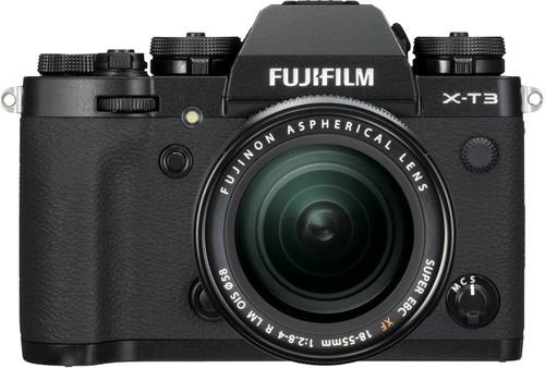 Fujifilm X-T3 Black + XF 18-55mm f / 2.8-4.0 R LM OIS Main Image