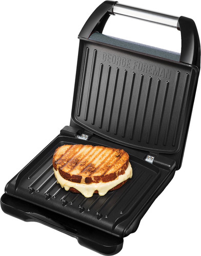 George Foreman Steel Grill Family Gray Main Image