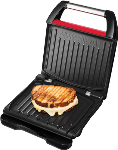 George Foreman Steel Grill Compact Main Image