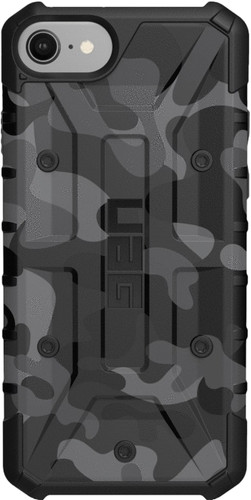 UAG Pathfinder Camo Apple iPhone SE 2 / 8 / 7 / 6 / 6s Back Cover Zwart Main Image