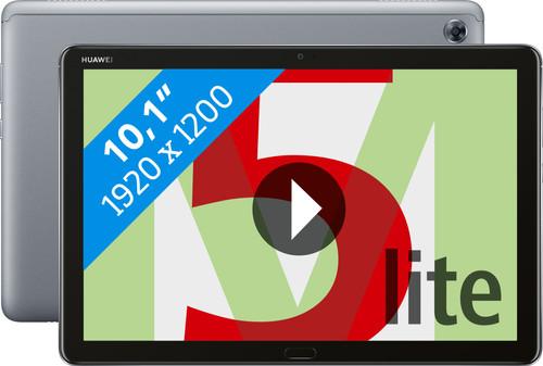 Huawei MediaPad M5 Lite 10.1 32 GB Wifi Grijs Main Image