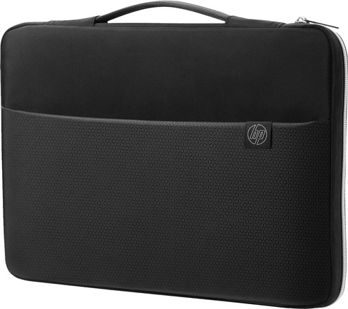 HP 15.6'' Carry Sleeve Black/Silver Main Image