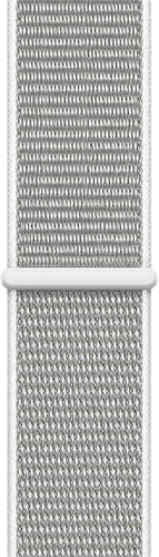 Apple Watch 44mm Nylon Sport Loop Watch Strap Shell White Main Image