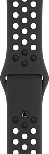 Apple Watch 40mm Siliconen Horlogeband Nike Sport Antraciet Main Image