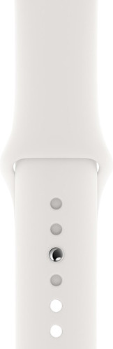 Apple Watch 40mm Silicone Watch Strap Sport White Main Image