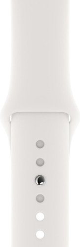 Apple Watch 44mm Silicone Watch Strap Sport White Main Image