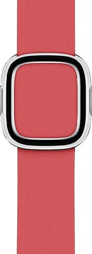 Apple Watch 40mm Modern Leather Watch Strap Peony Pink - Small Main Image