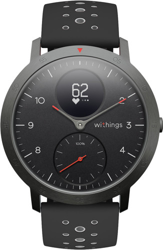 Withings Steel HR Sport Zwart Main Image
