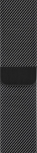 Apple Watch 40mm Watch Strap Space Black Milanese Main Image