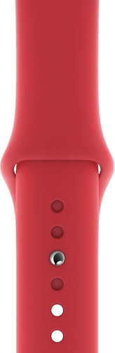 Apple Watch 40mm Silicone Watch Strap Sport RED Main Image