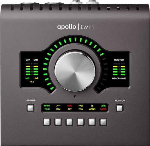Universal Audio Apollo Twin mk2 Quad Main Image