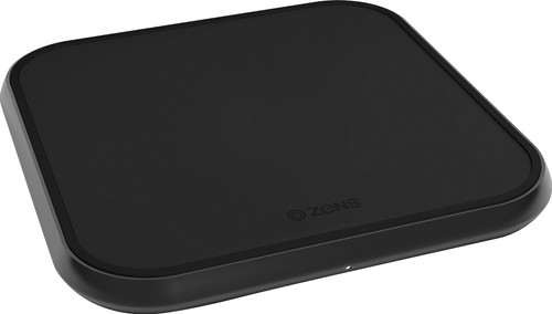 ZENS Single Aluminium Draadloze Oplader 10W Zwart Main Image