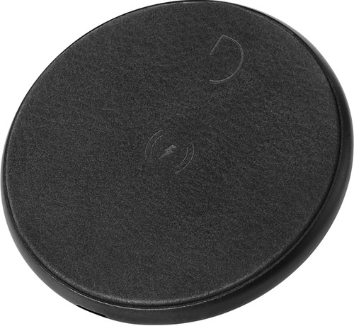 Decoded Leather Wireless Fast Charger Black Main Image