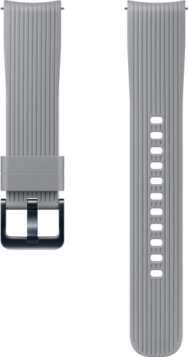 Samsung Galaxy Watch 42mm/Gear Sport Silicone Watch Strap Gray Main Image