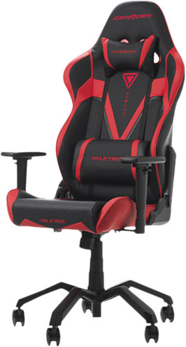 DXRacer VALKYRIE Gaming Chair Zwart/Rood Main Image