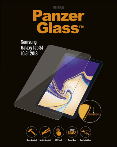 PanzerGlass Samsung Galaxy Tab S4 Screen Protector Tempered Glass Main Image
