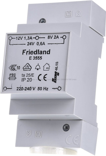Friedland Beltrafo - Transformator voor Nest Hello Main Image