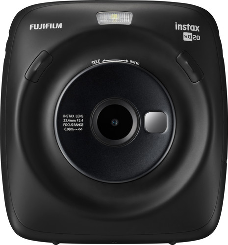 Fujifilm Instax SQUARE SQ20 Black Main Image