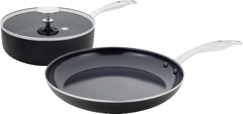 GreenPan Brussels ceramic skillet 24 cm and frying pan 28 cm Main Image