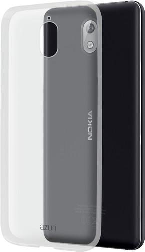 Azuri Glossy TPU Nokia 3.1 Back Cover Transparant Main Image