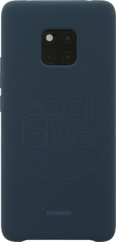 Huawei Silicone Huawei Mate 20 Pro Back cover Blauw Main Image