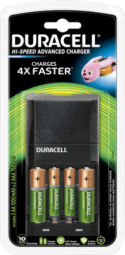 Duracell Hi-Speed battery charger AA - AAA Main Image