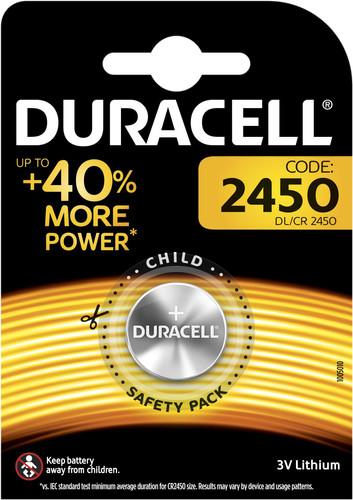 Duracell Specialty 2450 Lithium-knoopcelbatterij 3V 1 stuks Main Image