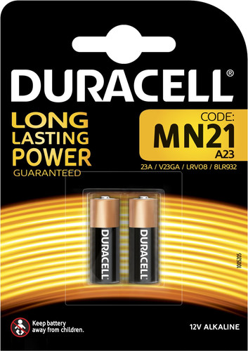 Duracell Specialty Alkaline MN21 battery 12V 2 pieces Main Image