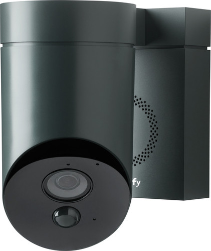 Somfy Outdoor Camera Black Main Image