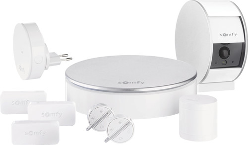 Somfy Home Alarm + Indoor Camera White Main Image