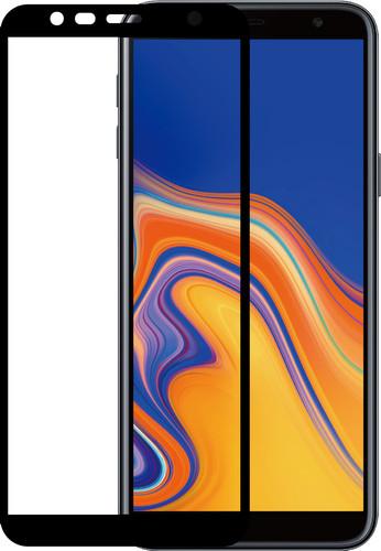 Azuri Tempered Glass Samsung Galaxy J4 Plus Screen Protector Glass Black Main Image