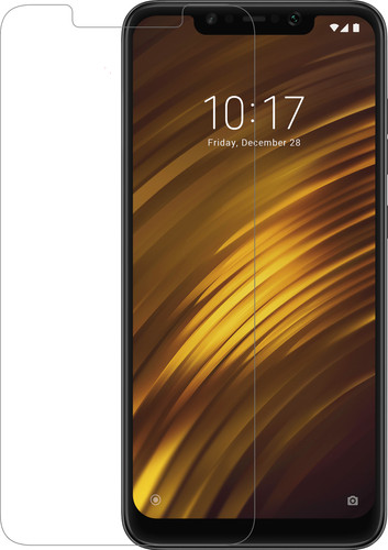 Azuri Tempered Glass Xiaomi Pocophone F1 Screen Protector Glass Main Image