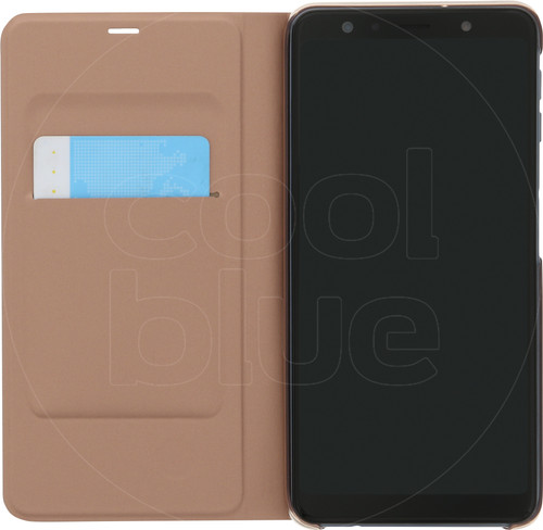 Samsung Galaxy A7 (2018) Wallet Book Case Goud Main Image