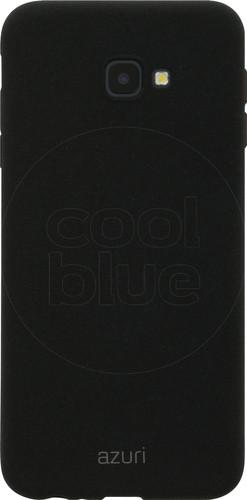 Azuri Flexible Sand Samsung Galaxy J4 Plus Back Cover Zwart Main Image
