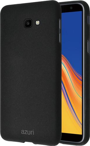 Azuri Flexible Sand Samsung Galaxy J6 Plus (2018) Back Cover Zwart Main Image