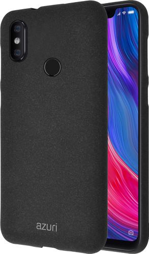 Azuri Flexible Sand Xiaomi Mi 8 Back Cover Zwart Main Image