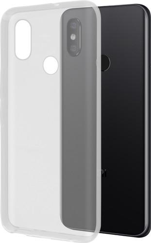 Azuri Glossy TPU Xiaomi Mi 8 Back Cover Transparant Main Image