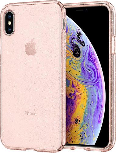 Spigen Liquid Crystal Apple iPhone Xs/X Back Cover Roze Main Image