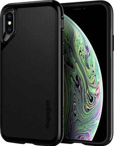 Spigen Neo Hybrid Apple iPhone Xs/X Back Cover Zwart Main Image