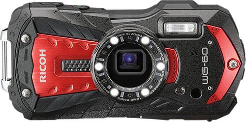 Ricoh WG-60 Red Main Image