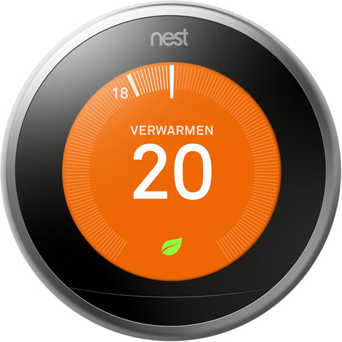 Google Nest Learning Thermostat (3e generatie) met Installatie Main Image