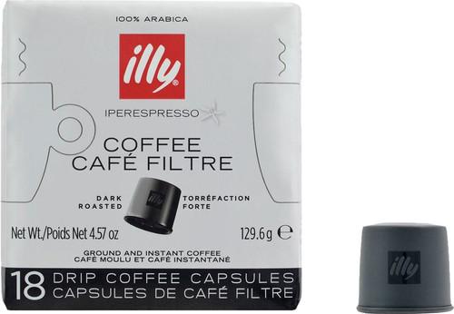 Illy Iperespresso Capsules Donkere Branding 18 stuks Main Image