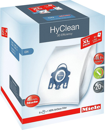 Miele XL Pack Hyclean 3D GN + HEPA Filter Main Image