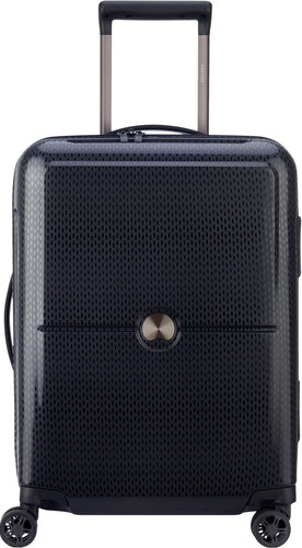 Delsey Turenne Slim Cabin Size Spinner 55cm Black Main Image