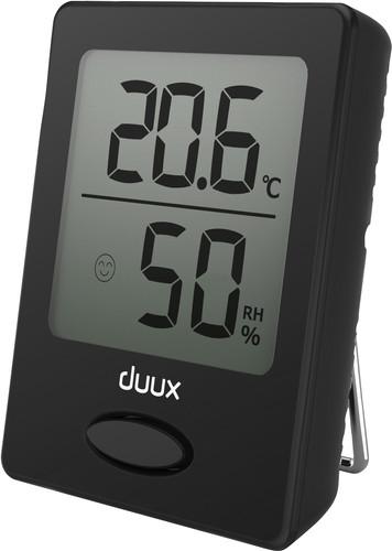 Duux Sense Hygrometer and Thermometer Black Main Image